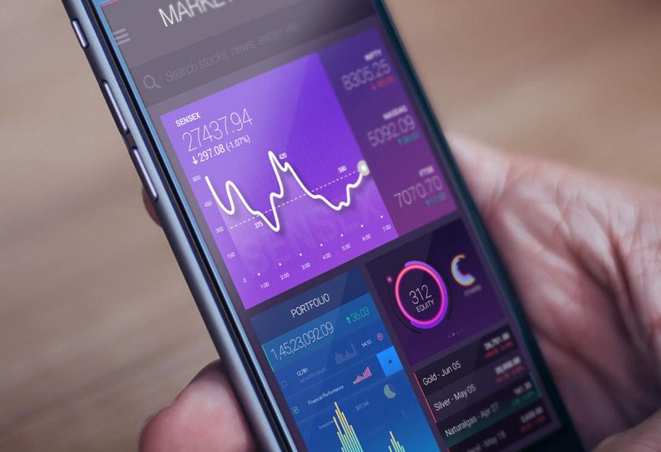 Fintech Mobile app UI Design